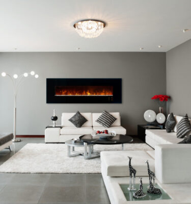 Electric Fireplace L