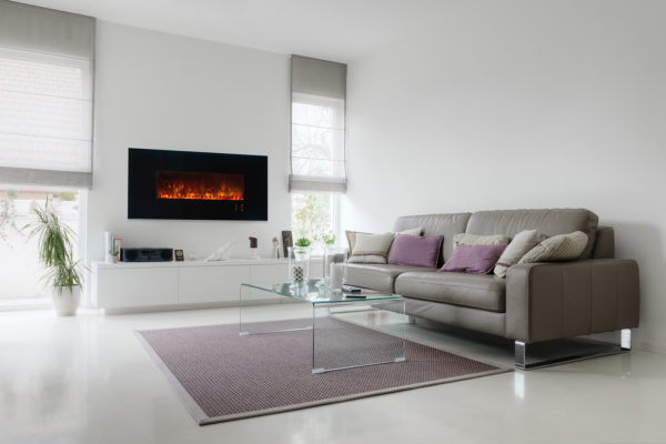 Electric Fireplace M